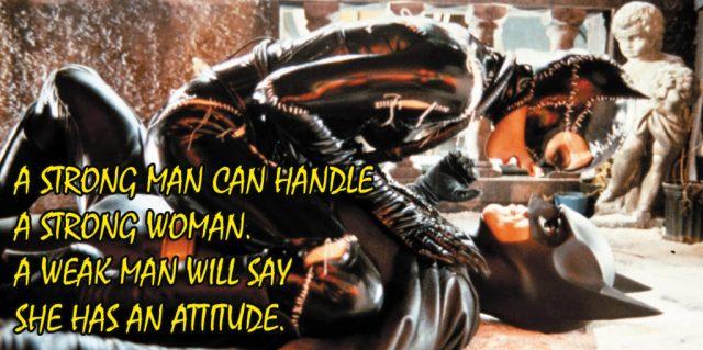 strong woman batman