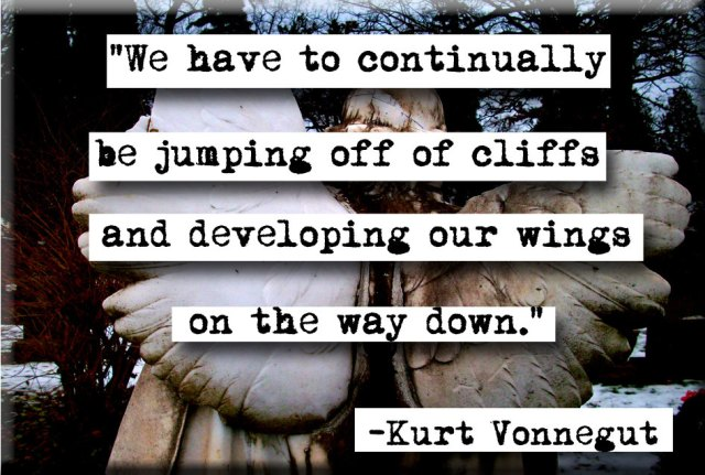 kurt vonnegut jumping off cliffs