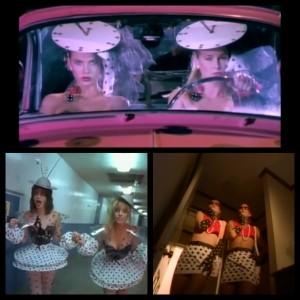 Cinderella polka dot sisters