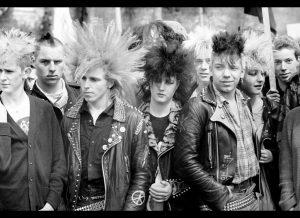 80s punk rock hair