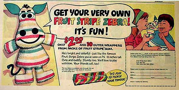 fruit stripe ad