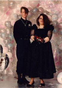 Me & Charlie in our formal prom pic