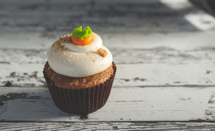 Carrot cake Photo by Joseph Gonzalez on Unsplash