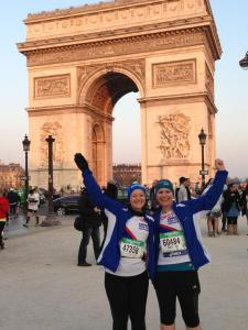 Before Paris marathon