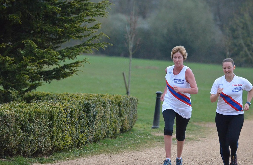 Running with Sharon at RVCP RR10