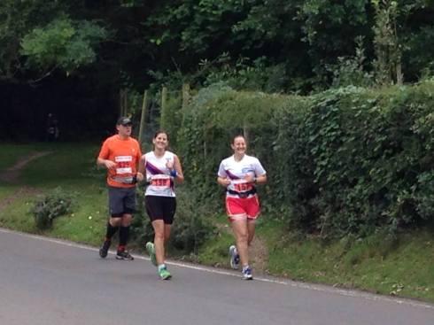 Burley, New Forest marathon ©Stuart Smith