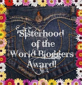 Sisterhood of the World Bloggers Award.