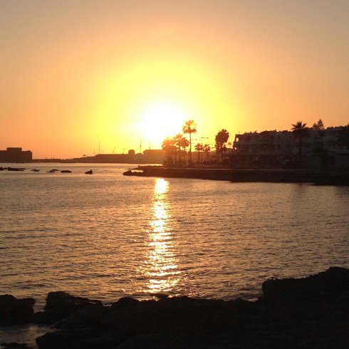 Sunset in Paphos