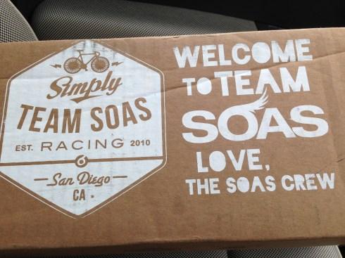 My Team SOAS parcel