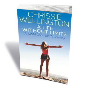 Chrissie Wellington's autobiography