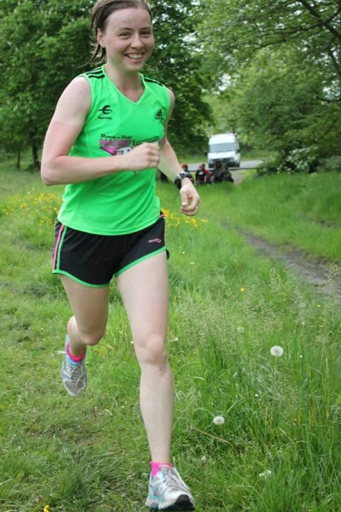 Elena enjoying the run ©Embrace Sports
