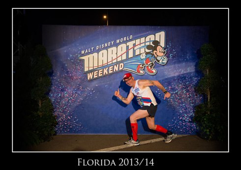 Jules at the Disney Half Marathon