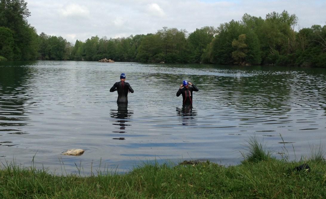 Lake swim on Day 8 of my Embrace holiday
