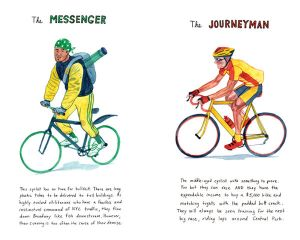 Stereotypical images of cycling tribes