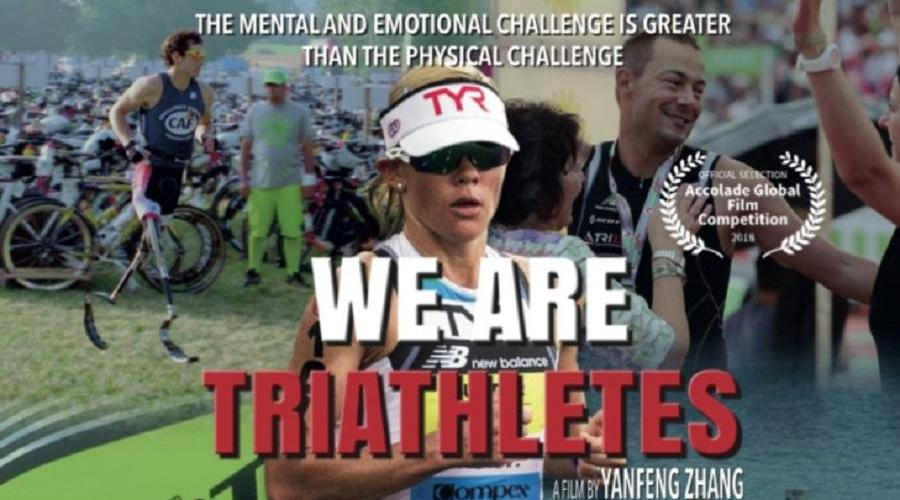 We Are Triathletes promotional poster