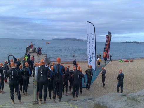 Start of Gu Weymouth Middle distance