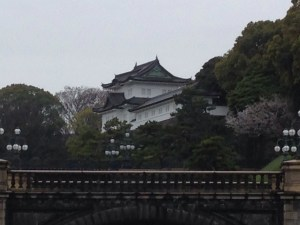The Imperial Palace gatehouse