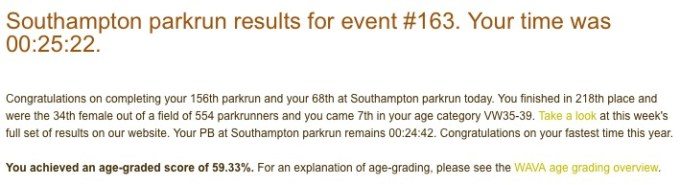 Southampton parkrun 1st August 163