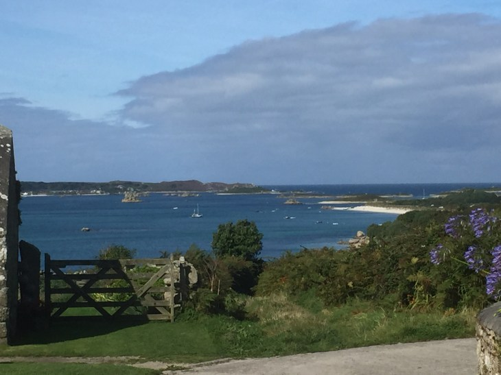 View towards Tresco from St. Martin's