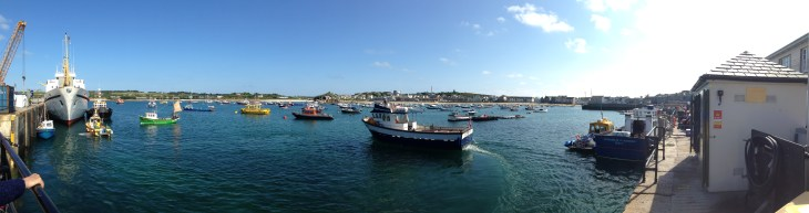the harbour at St. Mary's