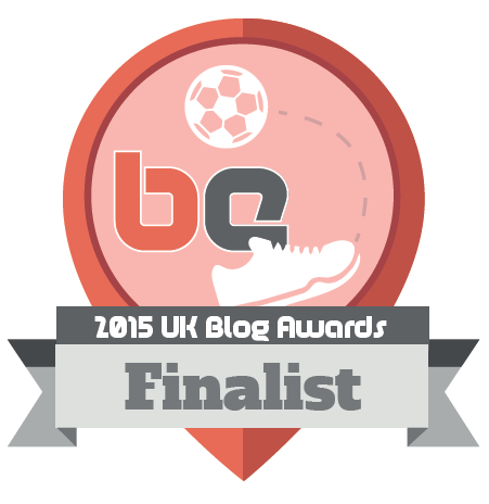 2015 UK Blog Awards finalist.