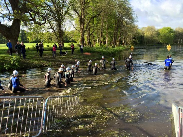 The lake at Shaftesbury