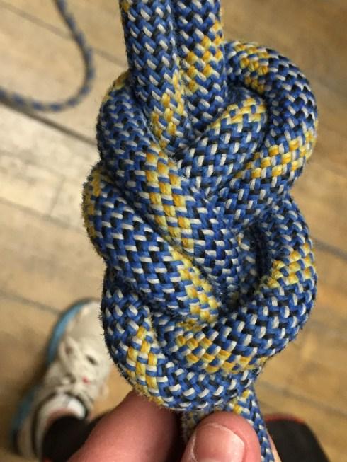 Climbing knot 2