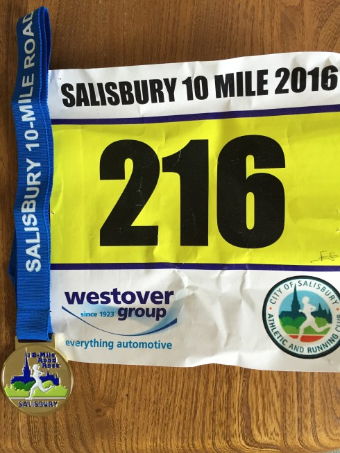 Salisbury 10 mile race 2016
