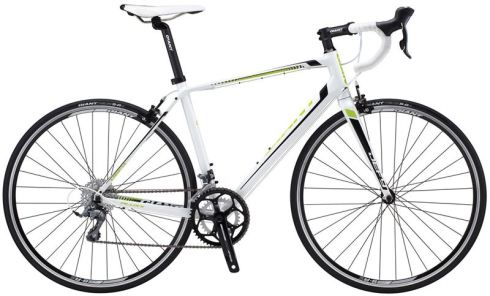 Promotional picture of 2014 Giant Defy 4 (white)