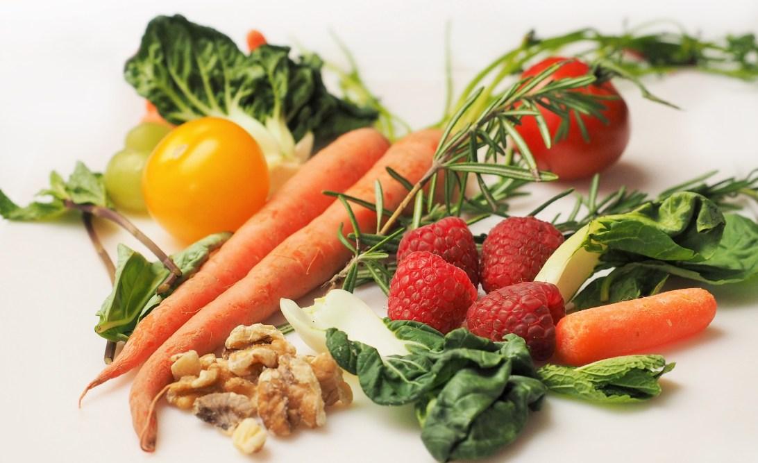 Vegetarian food.