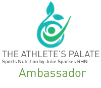 The Athlete's Palate Ambassador logo