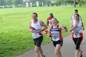 Southampton Marathon with Pete 2017