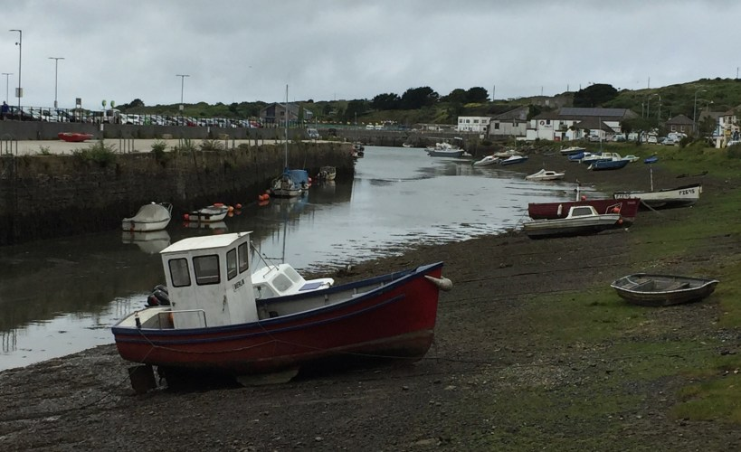 Boats in Hayle harbour