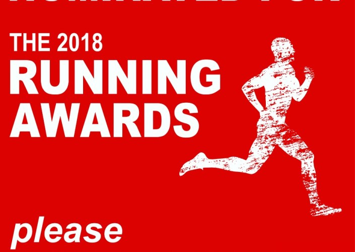Nominated for The 2018 Running Awards. Please vote for me.