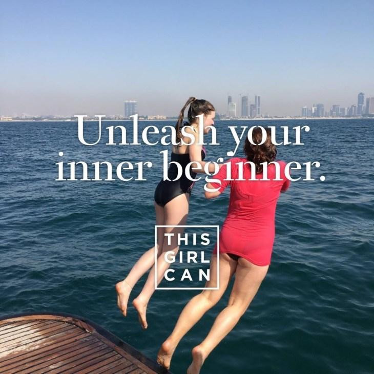 Unleash your inner beginner