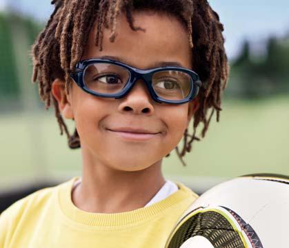 Children's sports sunglasses