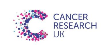 Cancer Research UK logo.