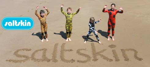 Saltskin animal print wetsuits