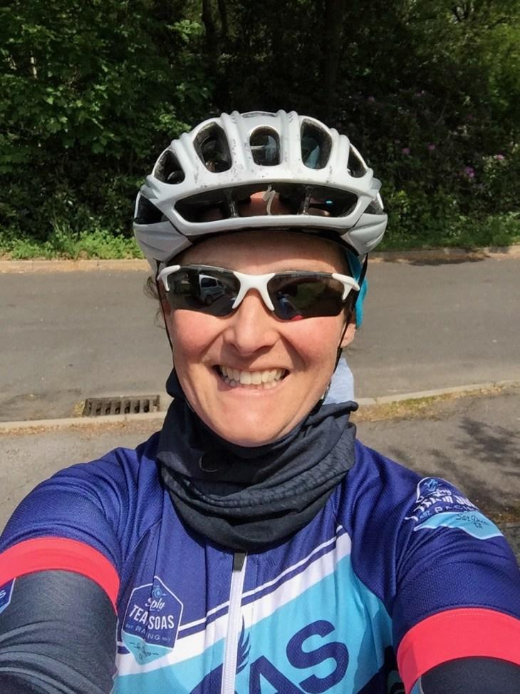 Cycling selfie