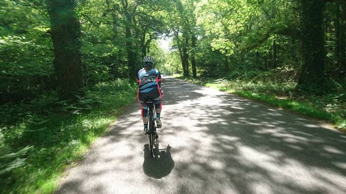 Cycling with Teri to Lepe