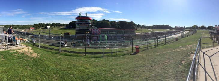 Panoramic view of Brands Hatch