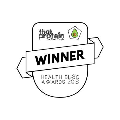 Health Blog Awards 2018 badge