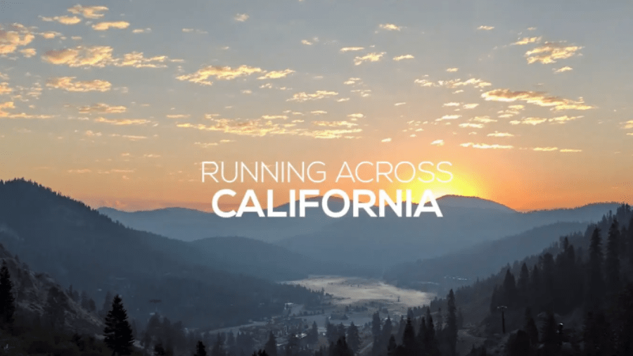 Running across California a film about Ali Butler Glenesk