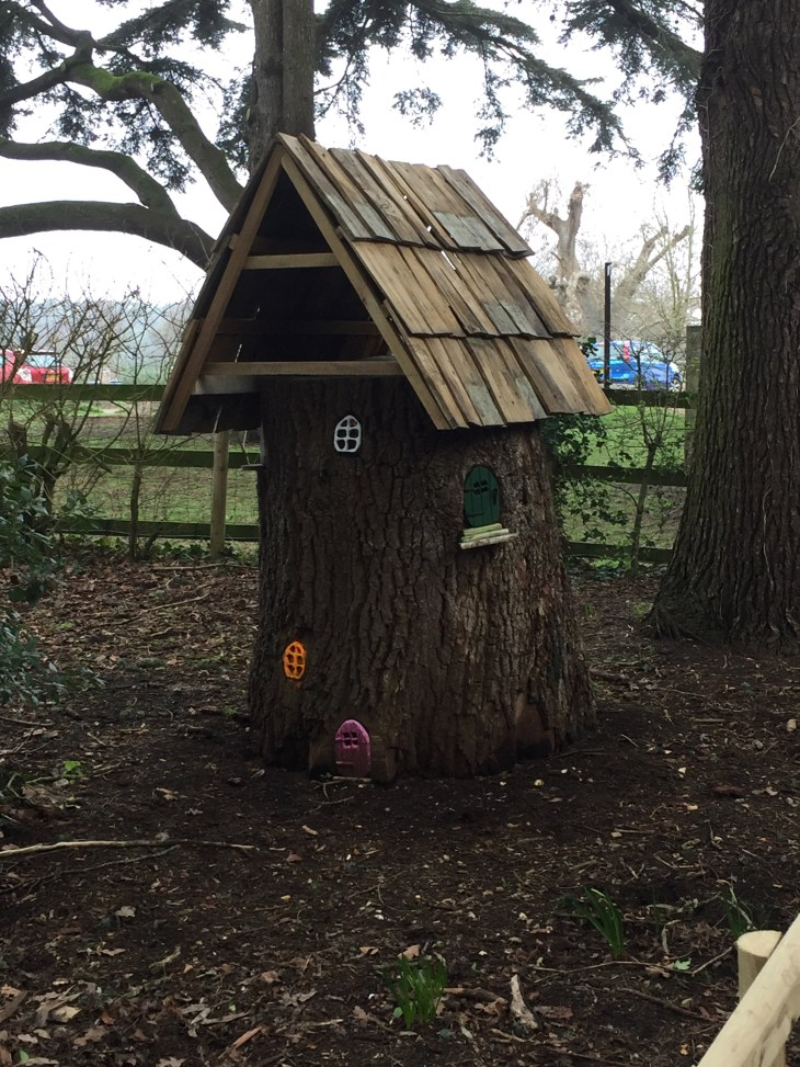 Fairy houses at Upton House.