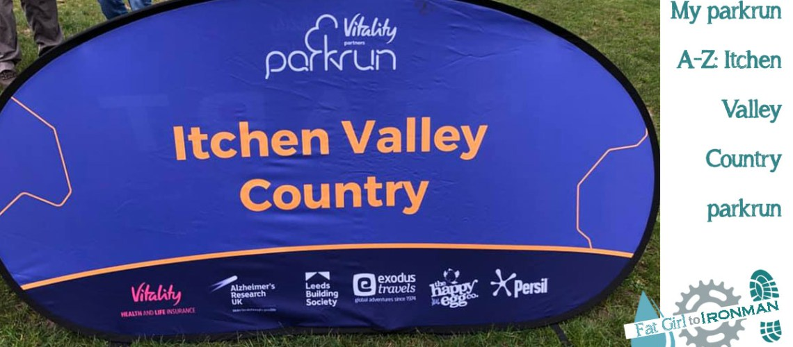 Itchen Valley Country parkrun banner.
