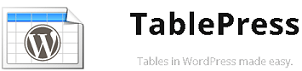 This page is powered by TablePress WordPress Plugin
