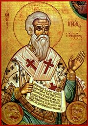 Saint Ignatius of Antioch, Bishop and Martyr