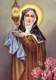 Saint Clare, Virgin