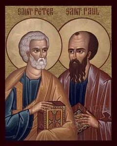 Saints Peter & Paul, Apostles