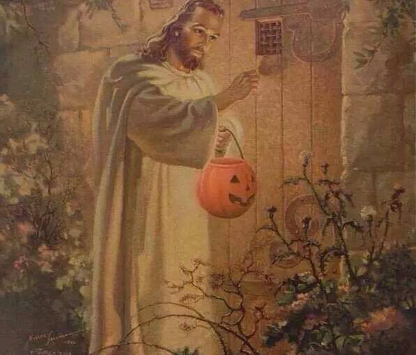All Saints Eve: Would Jesus Trick-or-Treat?